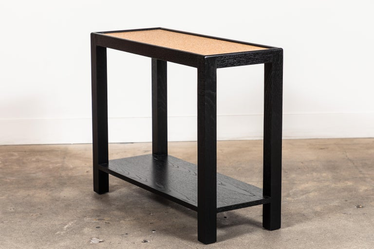 Rectangle Narrow Side Table by Lawson-Fenning In New Condition For Sale In Los Angeles, CA