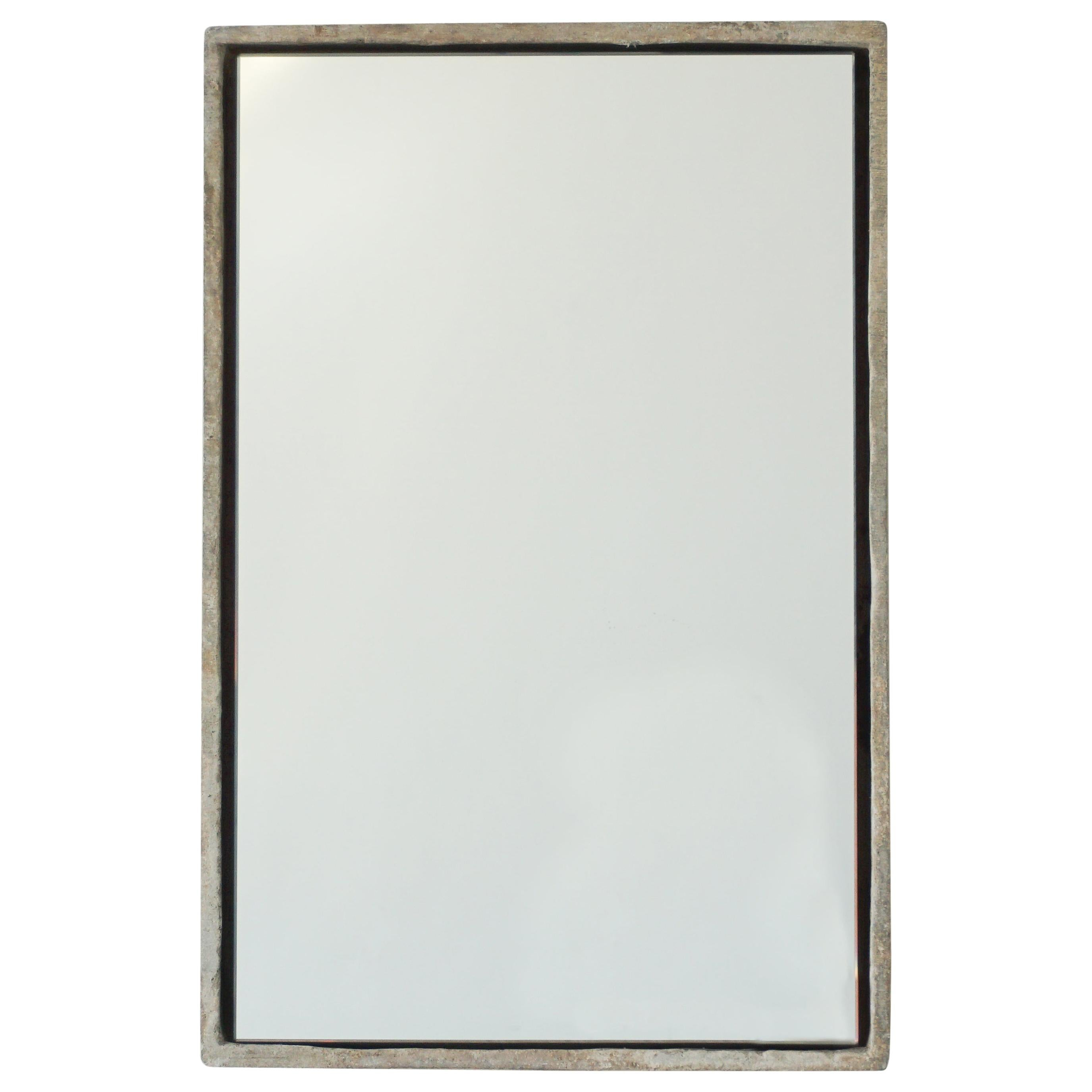 Rectangle Willy Guhl Mirror