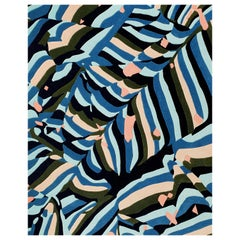 Rechteckige Banner Teppich von Cody Hoyt und freundlichere MODERN aus 100 % Neuseelandwolle