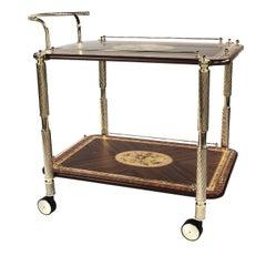 Rectangular Cart with Inlays