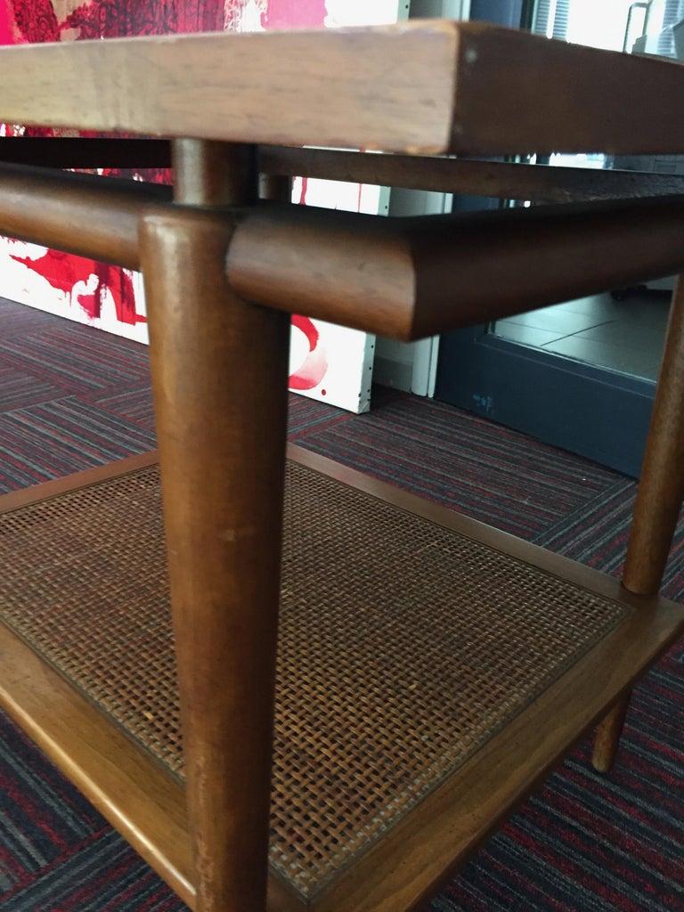 American Rectangular Coffee Table from John Widdicomb, 1950s For Sale