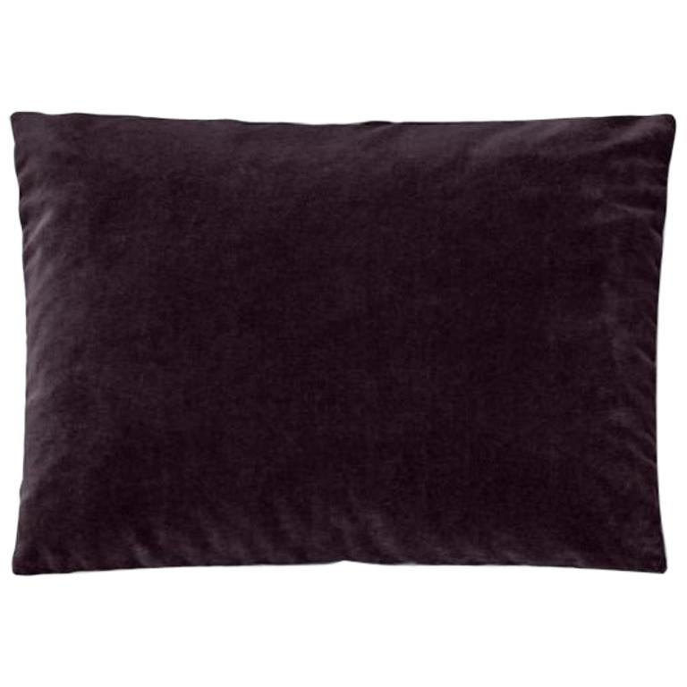 Molteni&C Rectangular Decorative Cushion Velvet For Sale