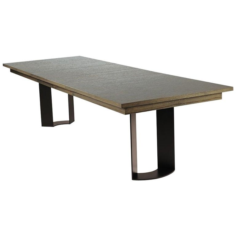Rectangular Extension Dining Table By Antoine Proulx For Sale At 1stdibs