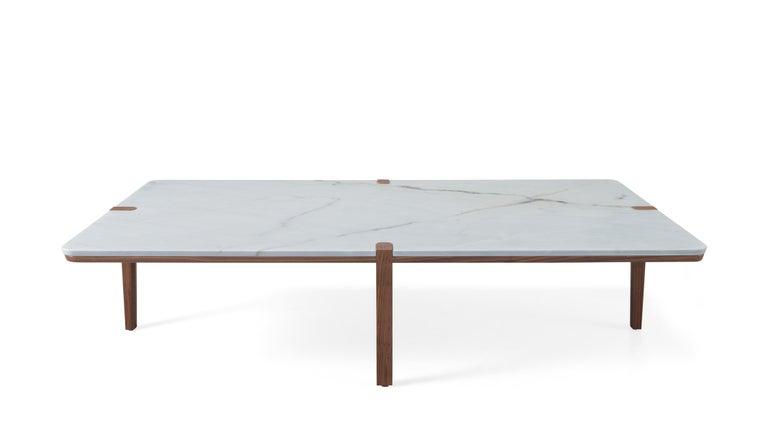 Remarkable Rectangular Marble Walnut Center Table Theyellowbook Wood Chair Design Ideas Theyellowbookinfo