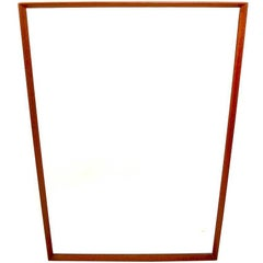 Rectangular Modernist Mirror