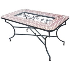 Rectangular Moroccan Mosaic Dinning / Coffee Table