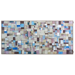 Rectangular Mosaic Coffee Table, Signed by WIRTH