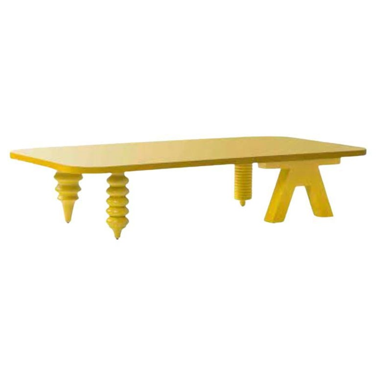 Rectangular Multileg Low Table by Jaime Hayon For Sale