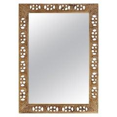 Rectangular Openwork Mirror
