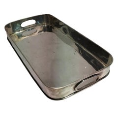 Rectangular Silverplate Tray