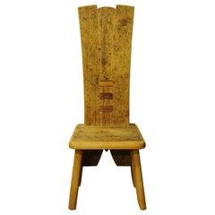 Rectangular Throne Chair