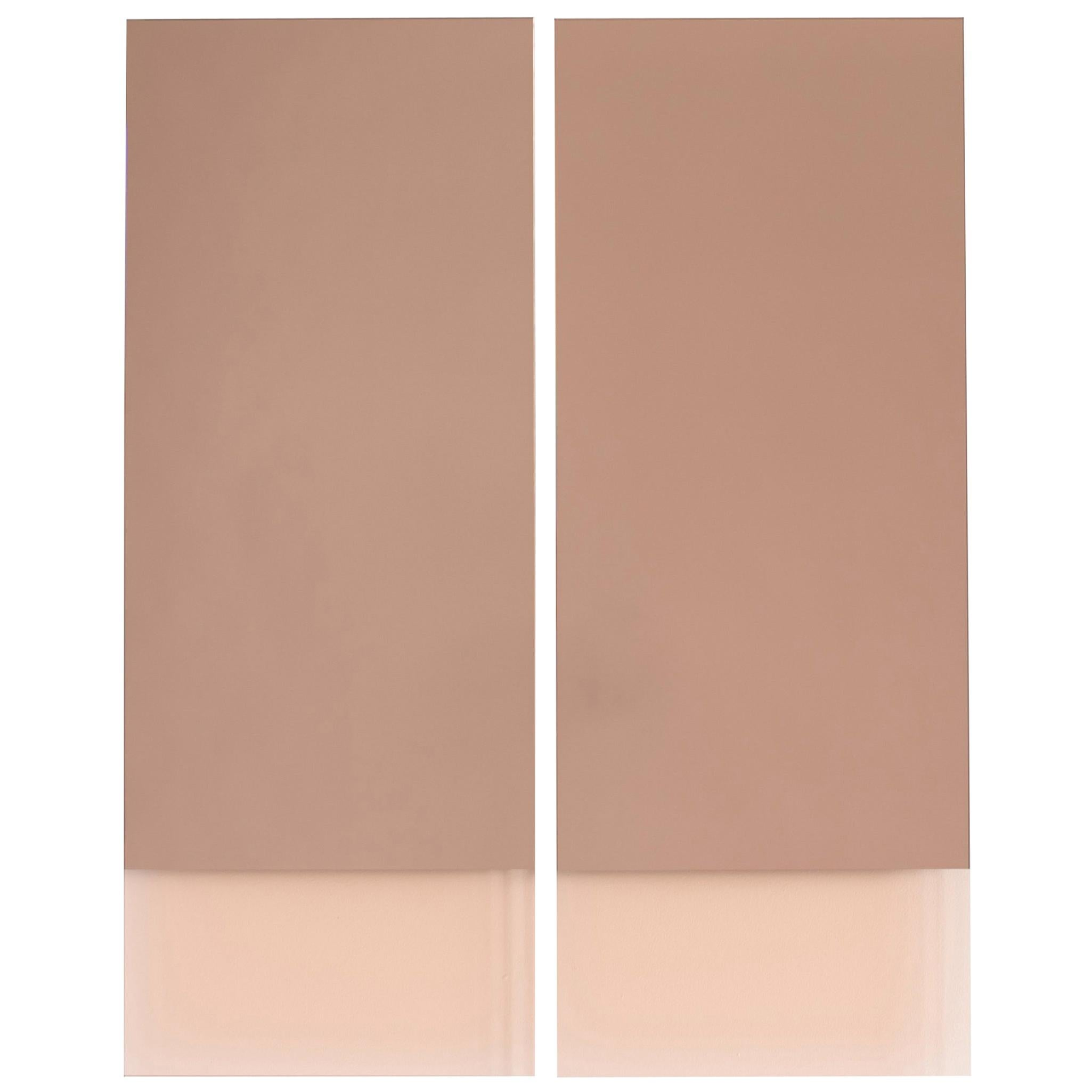 Rectangular Vanity Mirror, Contemporary IDA Mirror No. 4 by Ben & Aja Blanc