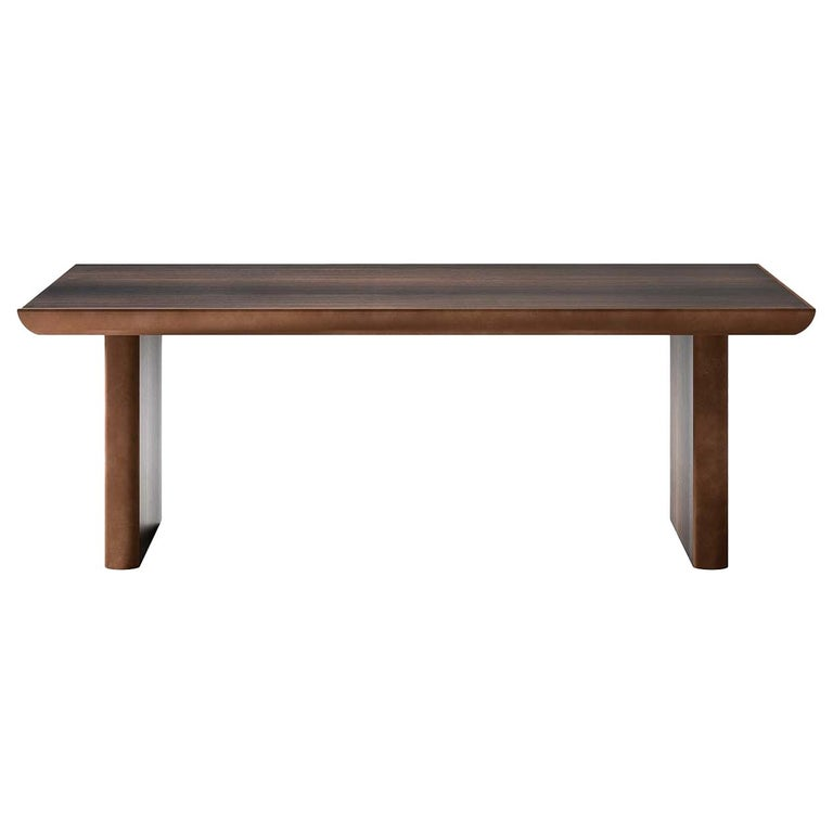 Rectangular Wood Dining Table For Sale