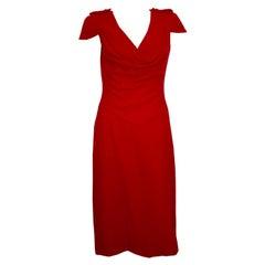 Red Alexander McQueen Dress