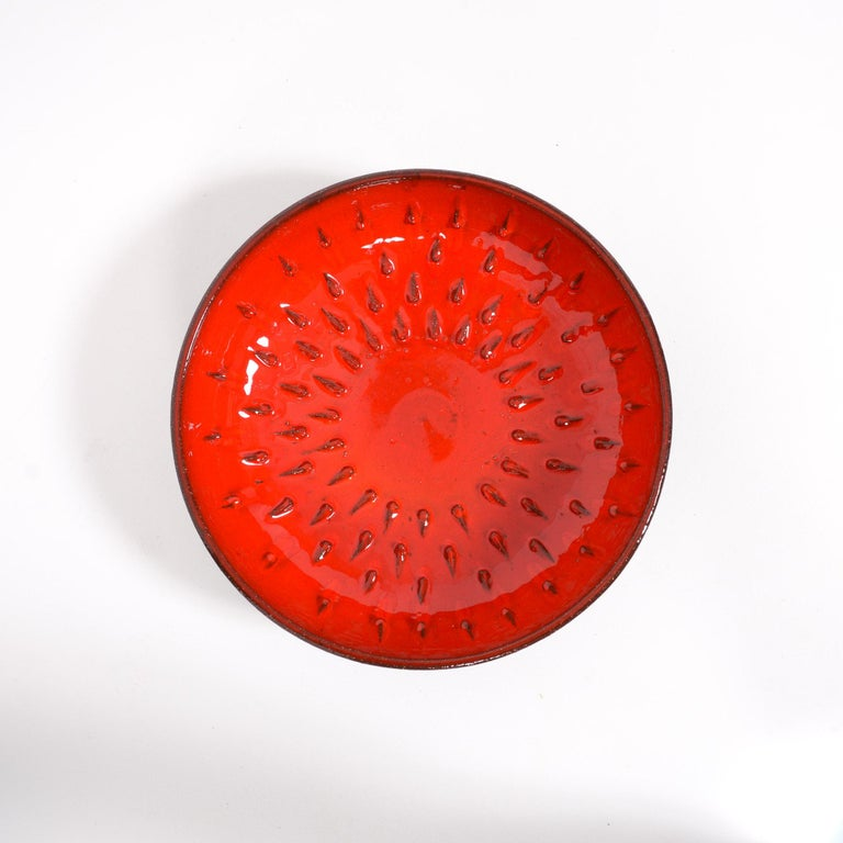 Red Amphora Bowl by Rogier Vandeweghe For Sale 1
