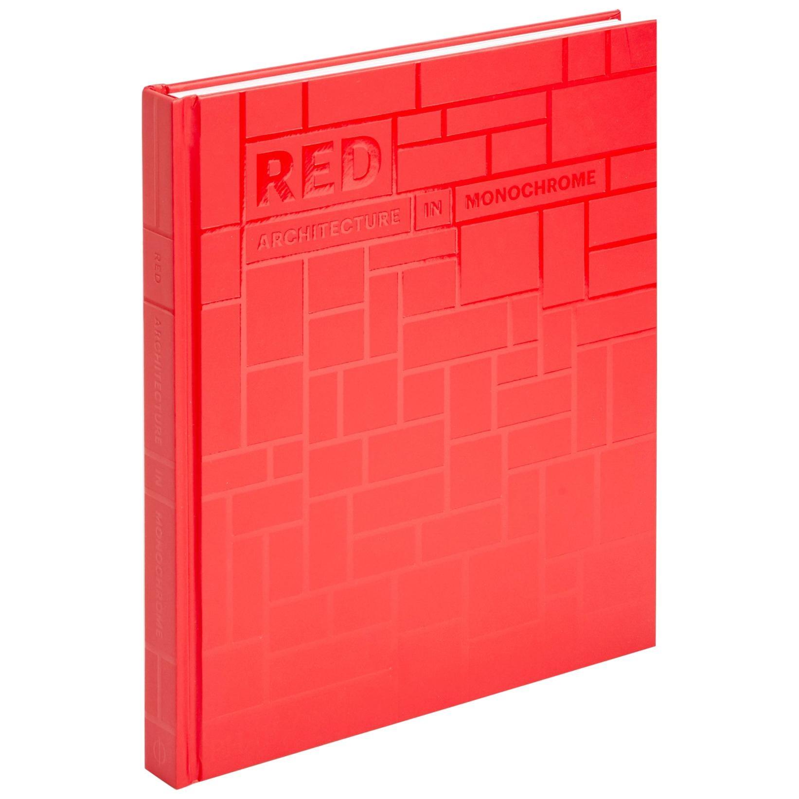 Red Architecture in Monochrome Book