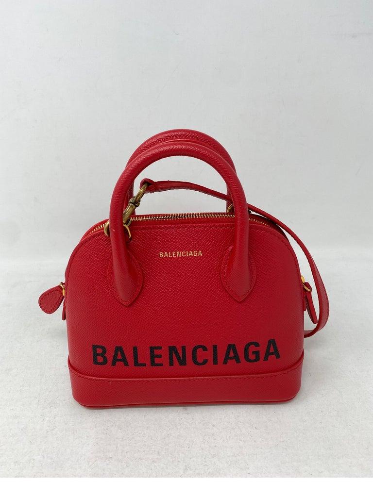 Red Balenciaga Bag  6