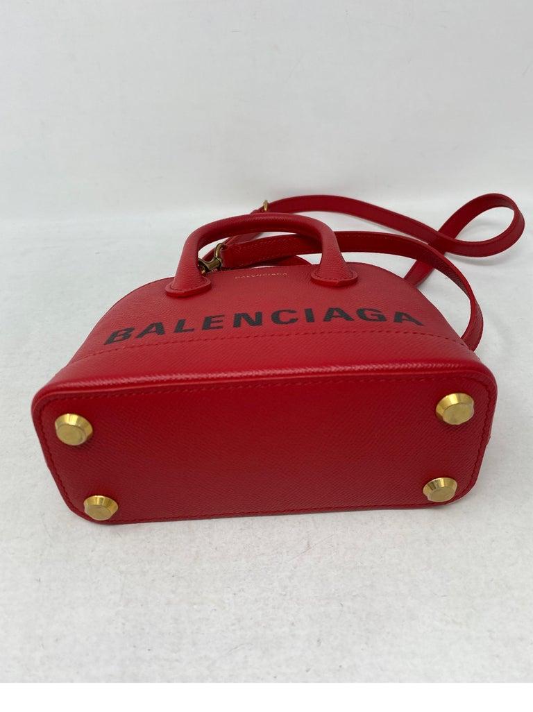 Red Balenciaga Bag  7