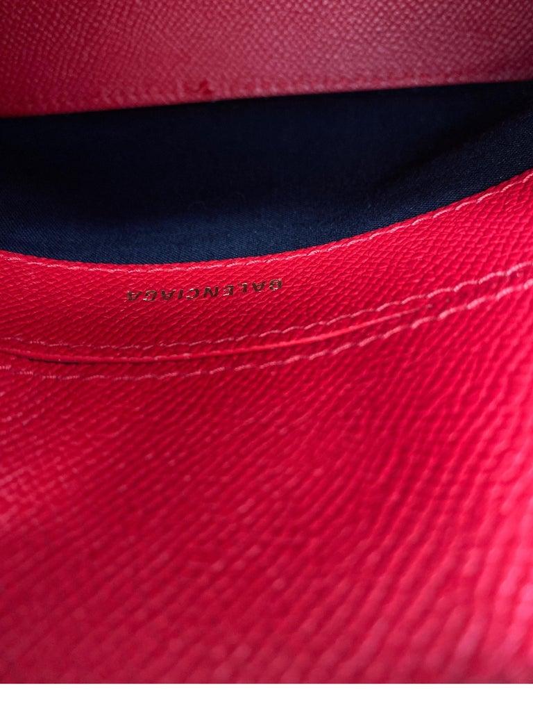 Red Balenciaga Bag  9