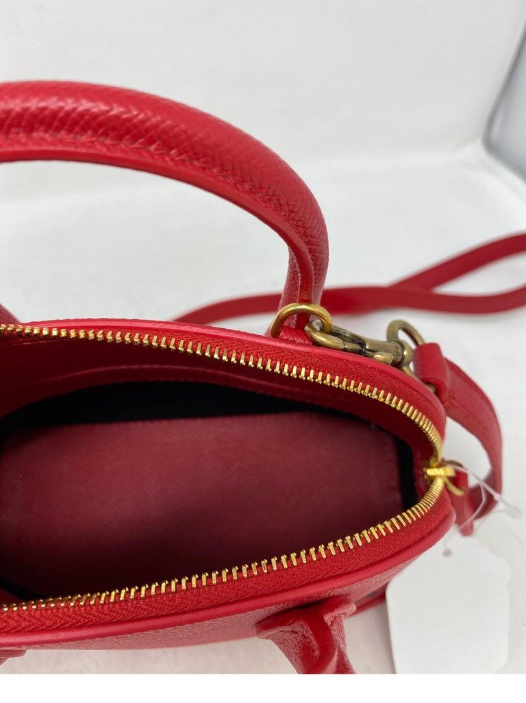 Red Balenciaga Bag  10