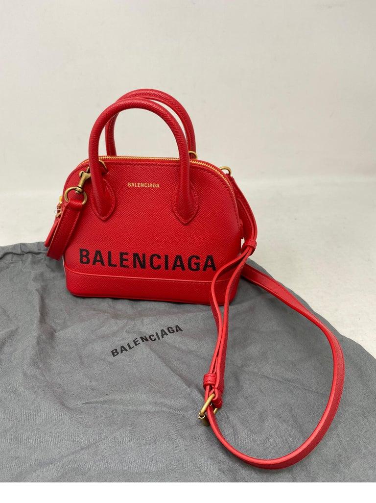 Red Balenciaga Bag  12