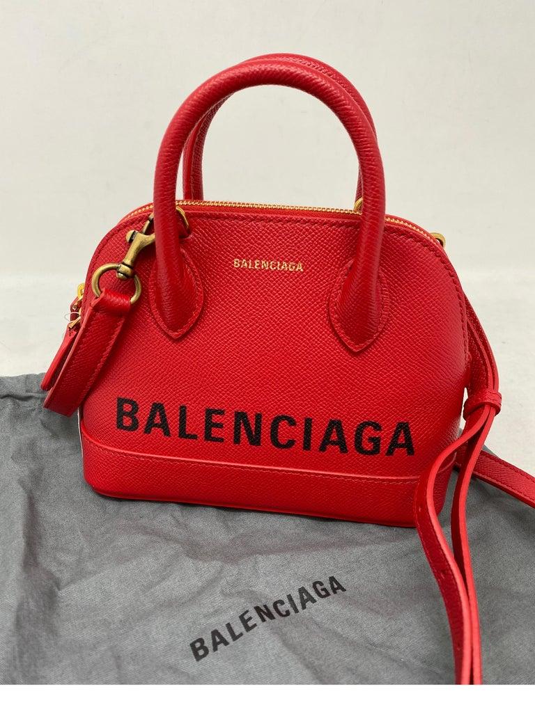 Red Balenciaga Bag  13