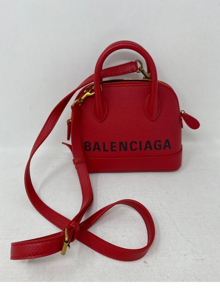 Red Balenciaga Bag  In New Condition In Athens, GA