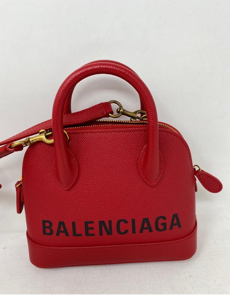 Women's or Men's Red Balenciaga Bag