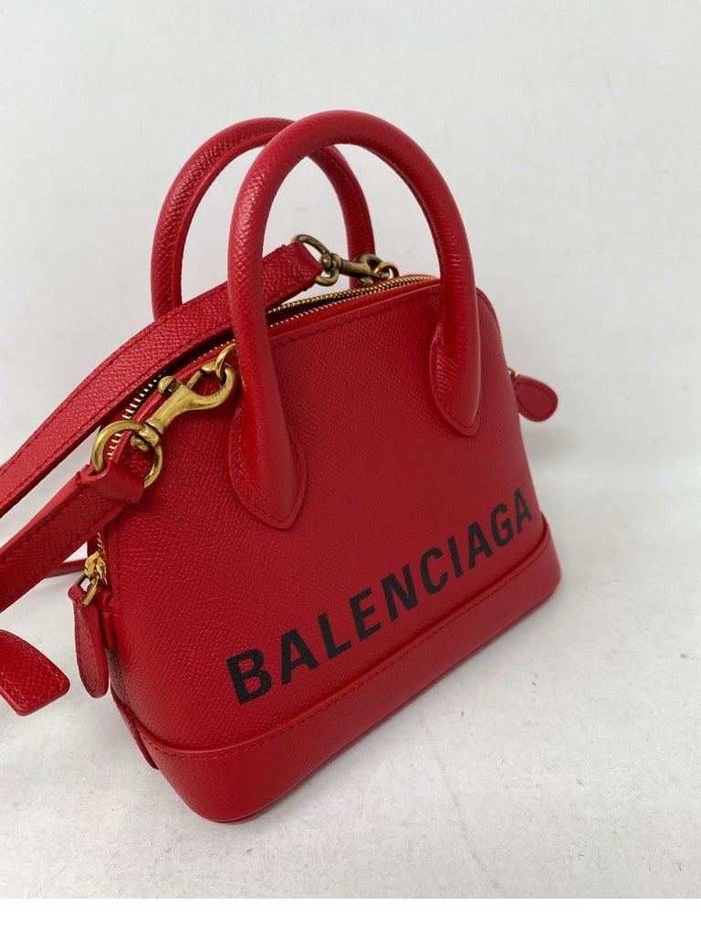 Red Balenciaga Bag  1