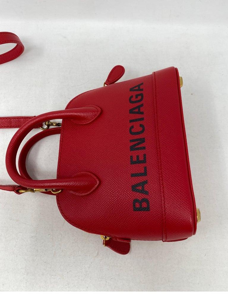 Red Balenciaga Bag  2