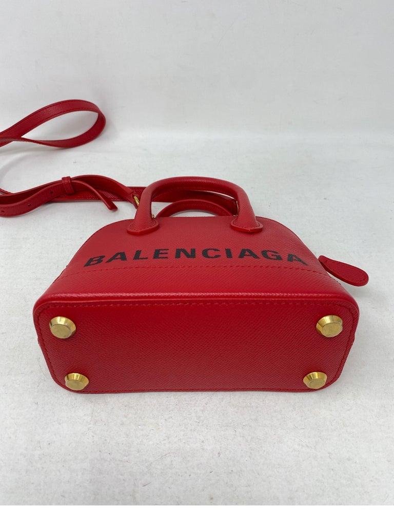 Red Balenciaga Bag  3