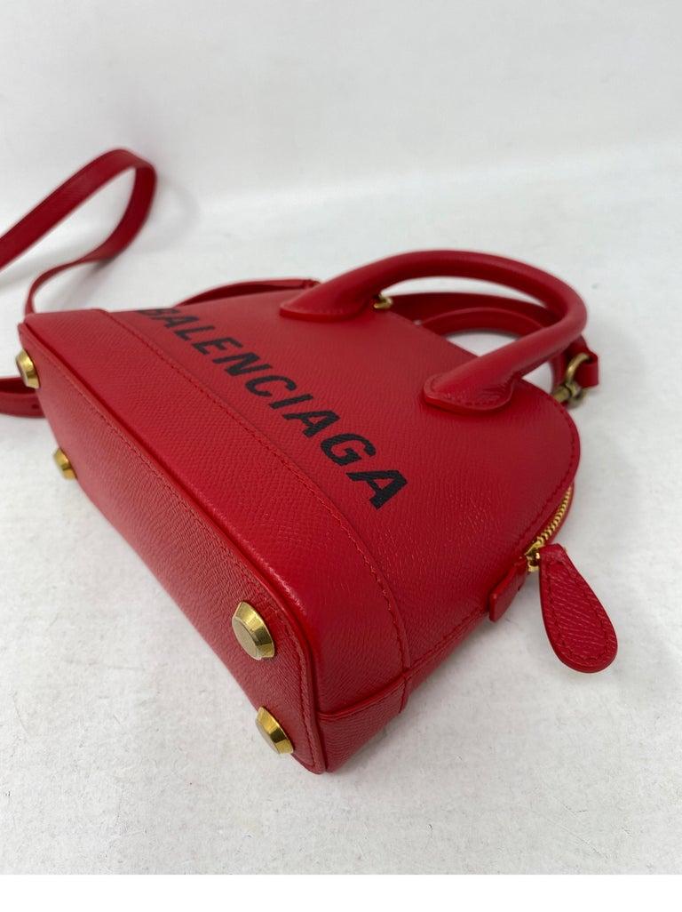 Red Balenciaga Bag  4