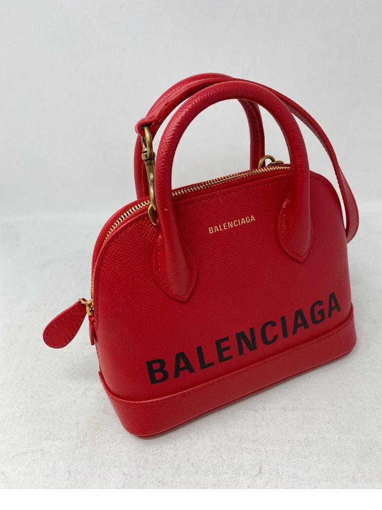 Red Balenciaga Bag  5