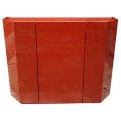 Red Bramante Sideboard by Kazuhide Takahama for Simon Gavina Collection, 1968