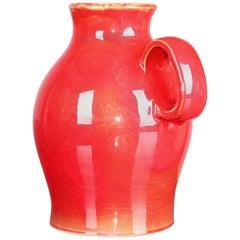 Red Ceramic Pichet