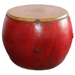 Red Ceremonial Drum