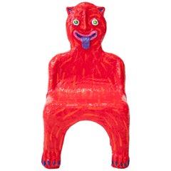 Red Creature Child Chair by Brett Douglas Hunter, USA, 2018