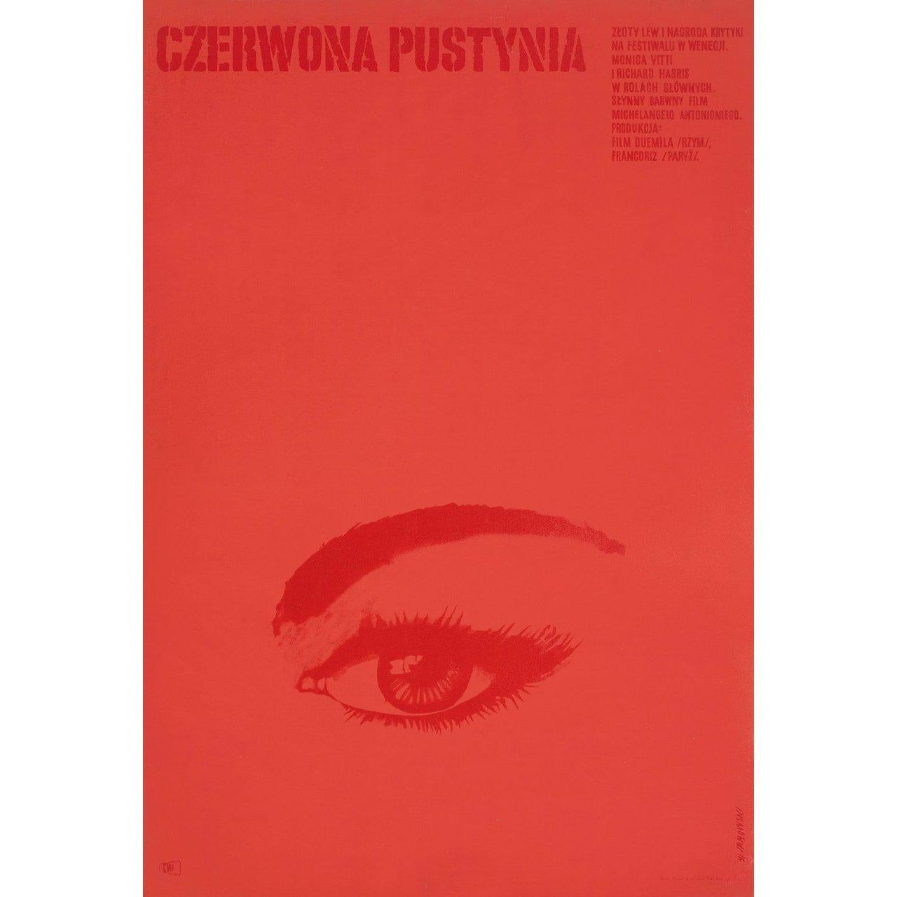 Red Desert 1965 Polish A1 Film Poster