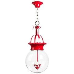 Red Enameled Lantern