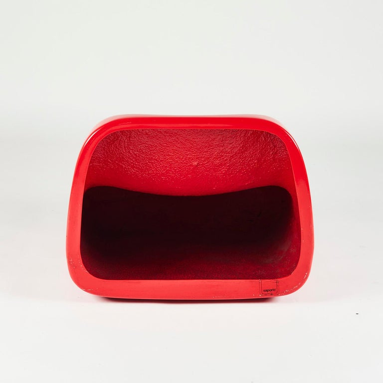 Red Fiberglass