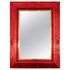 Textured Murano Glass Surround Mirror