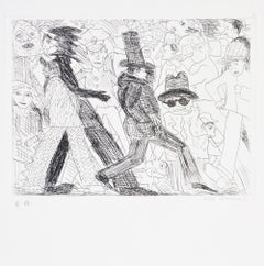 Red Grooms, Untitled, from The International Anthology of Contemporary Engraving