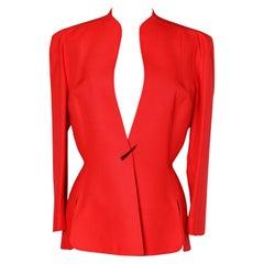 Red jacket Thierry Mugler