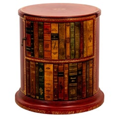 Red Leather Book Stand
