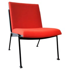 Red 'Oase' Lounge Chair by Wim Rietveld for Ahrend de Cirkel, 1950's