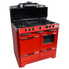 Red O'Keefe & Merritt Stove, 1948