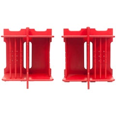 Red Side Tables