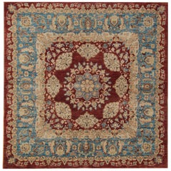 Red Persian Style Rugs, living room rugs with Persian Rugs, Zeigler Design