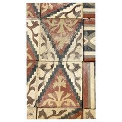Red Reclaimed Spanish Tiles