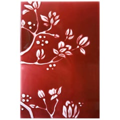 Red Resin Relief RD90 Decorative Panel